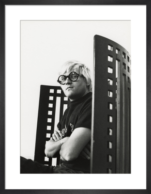 David Hockney, May 1969 by Godfrey Argent