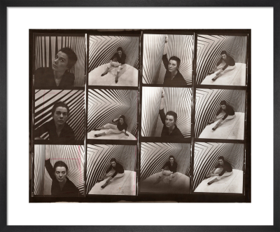 Bridget Riley, 1963 by Ida Kar