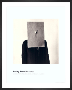 Saul Steinberg in Nose Mask by Irving Penn