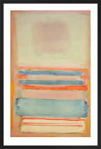 n7 or n11 mark rothko framed art print