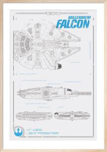 Star Wars Episode VII - Millennium Falcon Plans by Anonymous