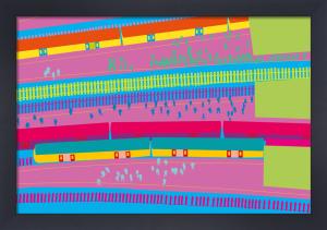 Train Platform by Yoni Alter