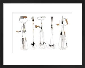 Five Whisks by Bridget Davies