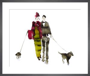 What to Wear When Walking the Dogs - Eva & Gerald by Bridget Davies