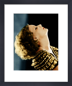 Greta Garbo (Inspiration) by Hollywood Photo Archive