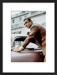 Sean Connery (Goldfinger) 1964 by Hollywood Photo Archive