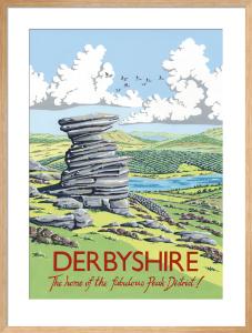 Salt Cellar Rock, Derwent Edge, Derbyshire by Kelly Hall