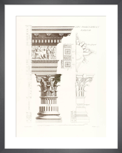 Orders of Architecture: The Corinthian Order by Sir William Chambers
