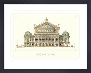 Paris - Theatre de L'Opera by Anonymous