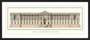 Paris - Colonnade du Louvre by Anonymous