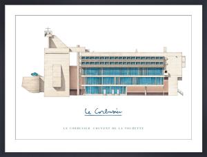 Le Corbusier - Couvant de la Tourette by Le Corbusier