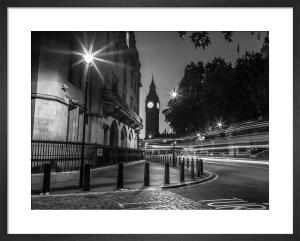 Big Ben Street Corner by Assaf Frank