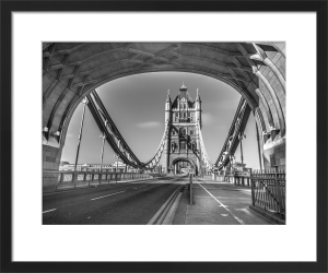 Through Tower Bridge by Assaf Frank