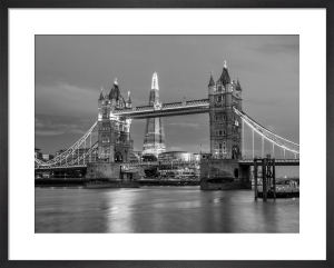Tower Bridge and the Shard by Assaf Frank