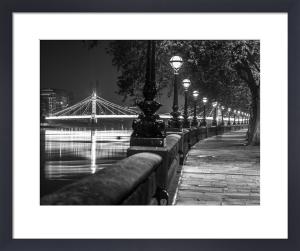 Albert Bridge Walkway Lamps by Assaf Frank