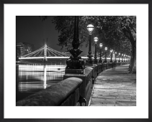 Albert Bridge Walkway Lamps by Assaf Frank