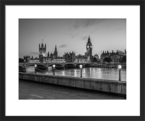 Big Ben and Westminster Bridge by Assaf Frank