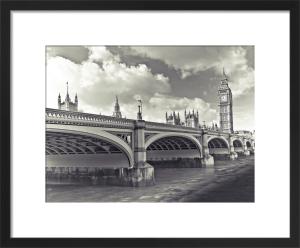 Westminster Bridge and Big Ben by Assaf Frank
