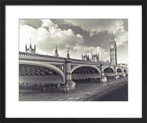 Westminster Bridge and Big Ben by Assaf Frank