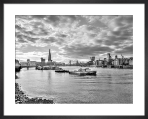 Thames Skyline by Assaf Frank
