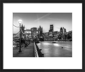 Tower Bridge Walkway by Assaf Frank
