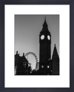 Big Ben Silhouette by Assaf Frank