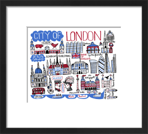 London - City of London by Julia Gash