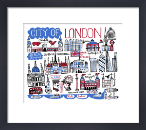 London - City of London by Julia Gash