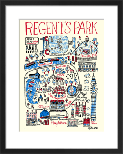 London - Regents Park by Julia Gash