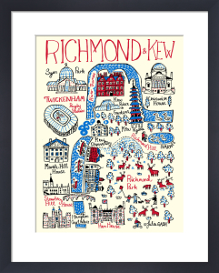 London - Richmond and Kew by Julia Gash