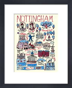 Nottingham by Julia Gash