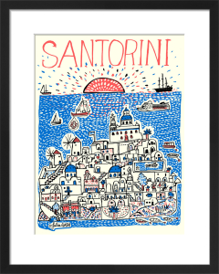 Santorini by Julia Gash