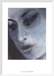 Amy-Blue, 2011 by Marlene Dumas