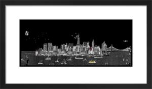 New York Night by Charlene Mullen