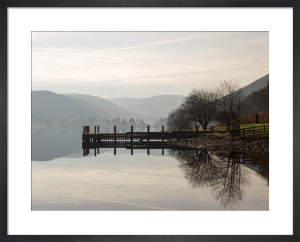 Jetty at St.Mary's Loch by Paul Stevenson