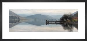 St.Mary's Loch Panorama by Paul Stevenson