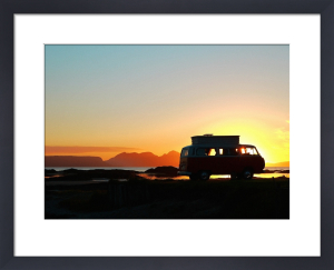 VW West Coast Scotland Silhouette by Paul Stevenson