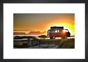 VW West Coast Scotland Sunset by Paul Stevenson