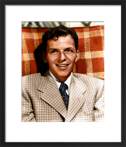 Frank Sinatra 1951 by Hollywood Photo Archive