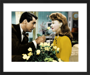 Ginger Rogers and Cary Grant (Kitty Foyle) 1940 by Hollywood Photo Archive