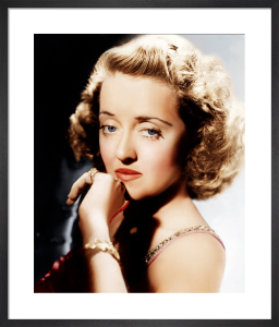 Bette Davies 1938 by Hollywood Photo Archive