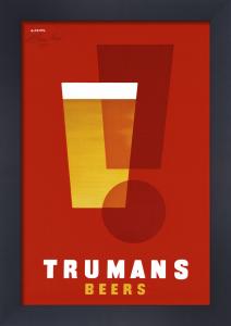 Trumans Beers by Abram Games