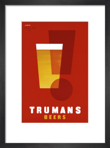 Trumans Beers by Abram Games
