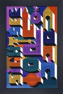 London Buildings by Abram Games