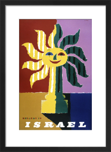 Holiday in Israel by Abram Games