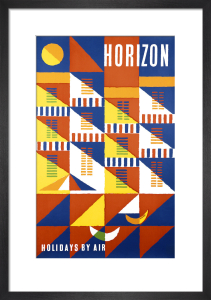 Horizon Holidays by Abram Games