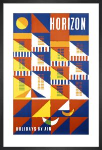 Horizon Holidays by Abram Games