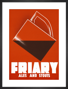 Friary Ales and Stouts by Abram Games