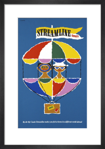 Streamline Tours by Abram Games