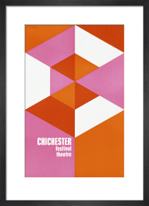 Chichester Festival Theatre by Abram Games